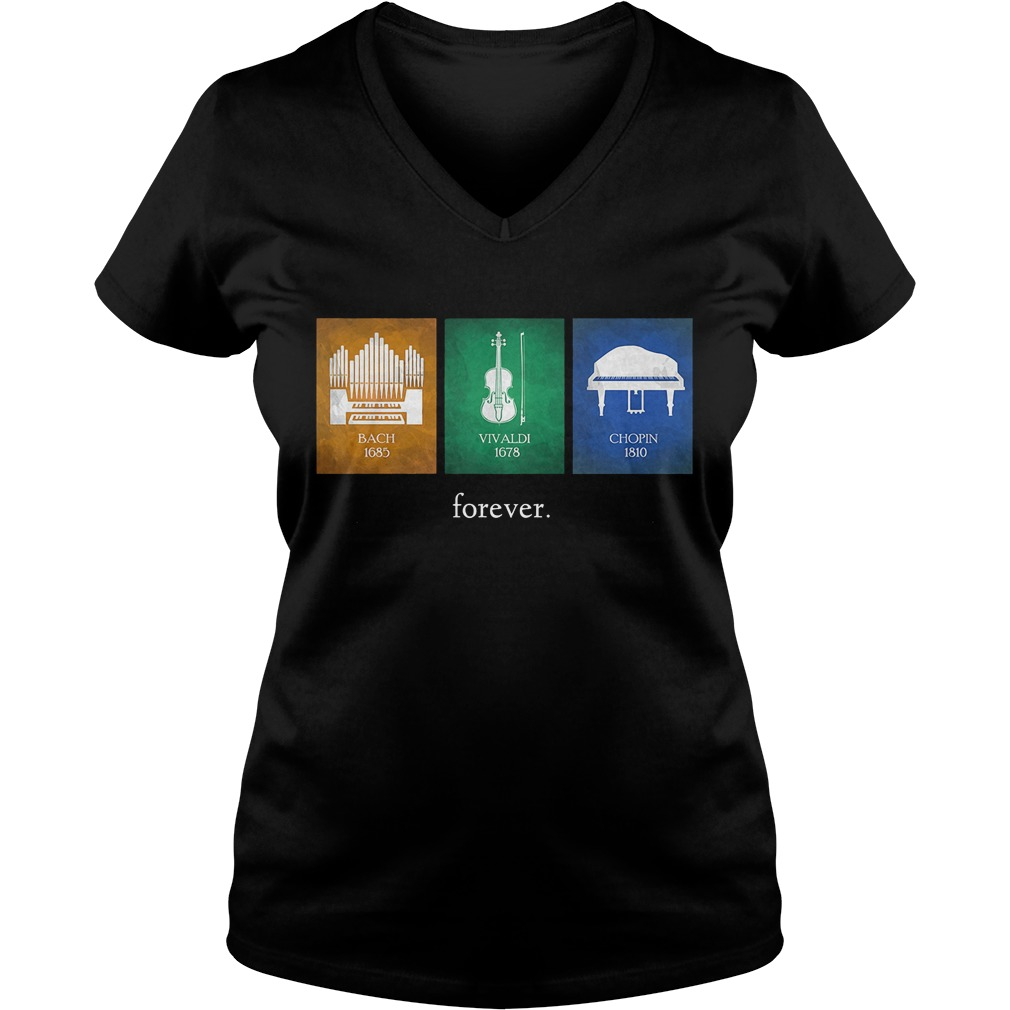Classical Music Composers Instruments V Neck