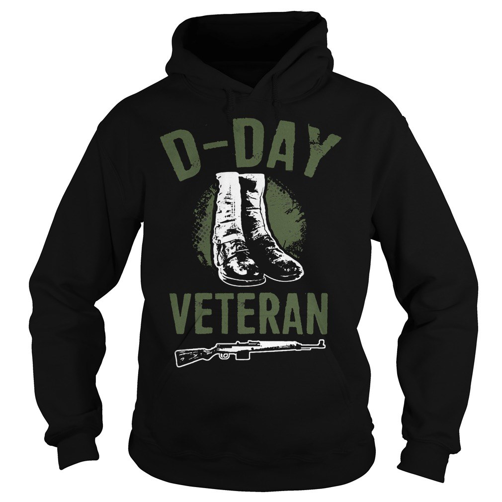 D Day Veteran Perfect Gift For Veterans Hoodie