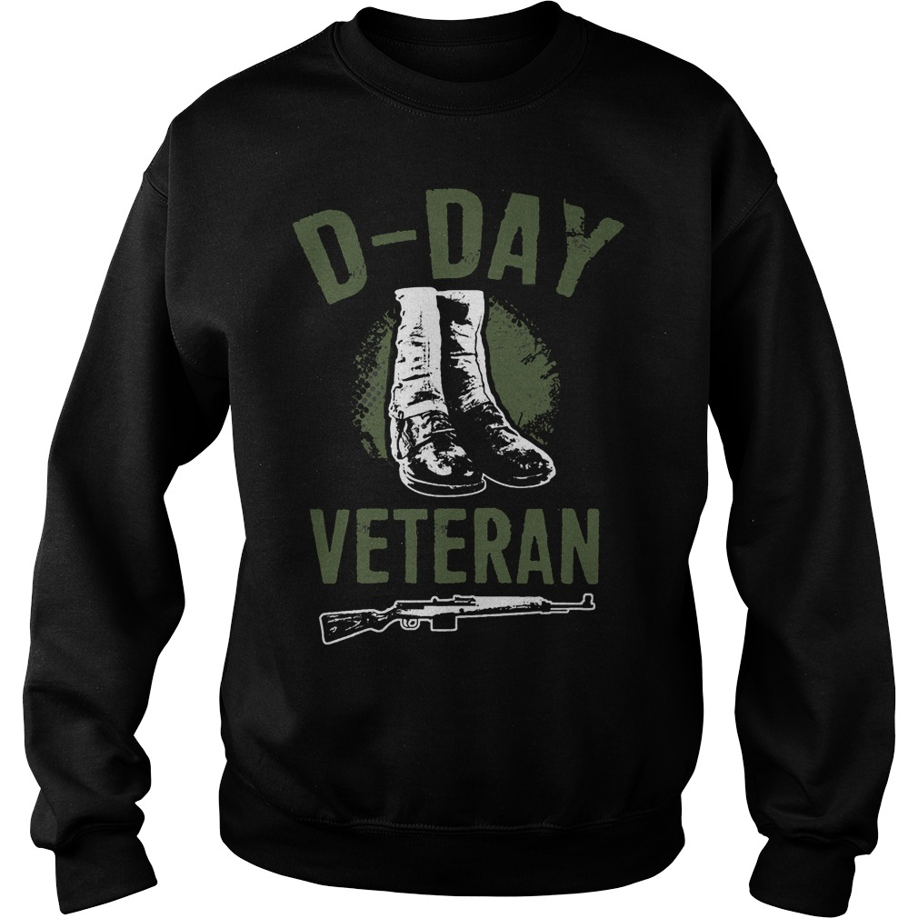 D Day Veteran Perfect Gift For Veterans Sweater