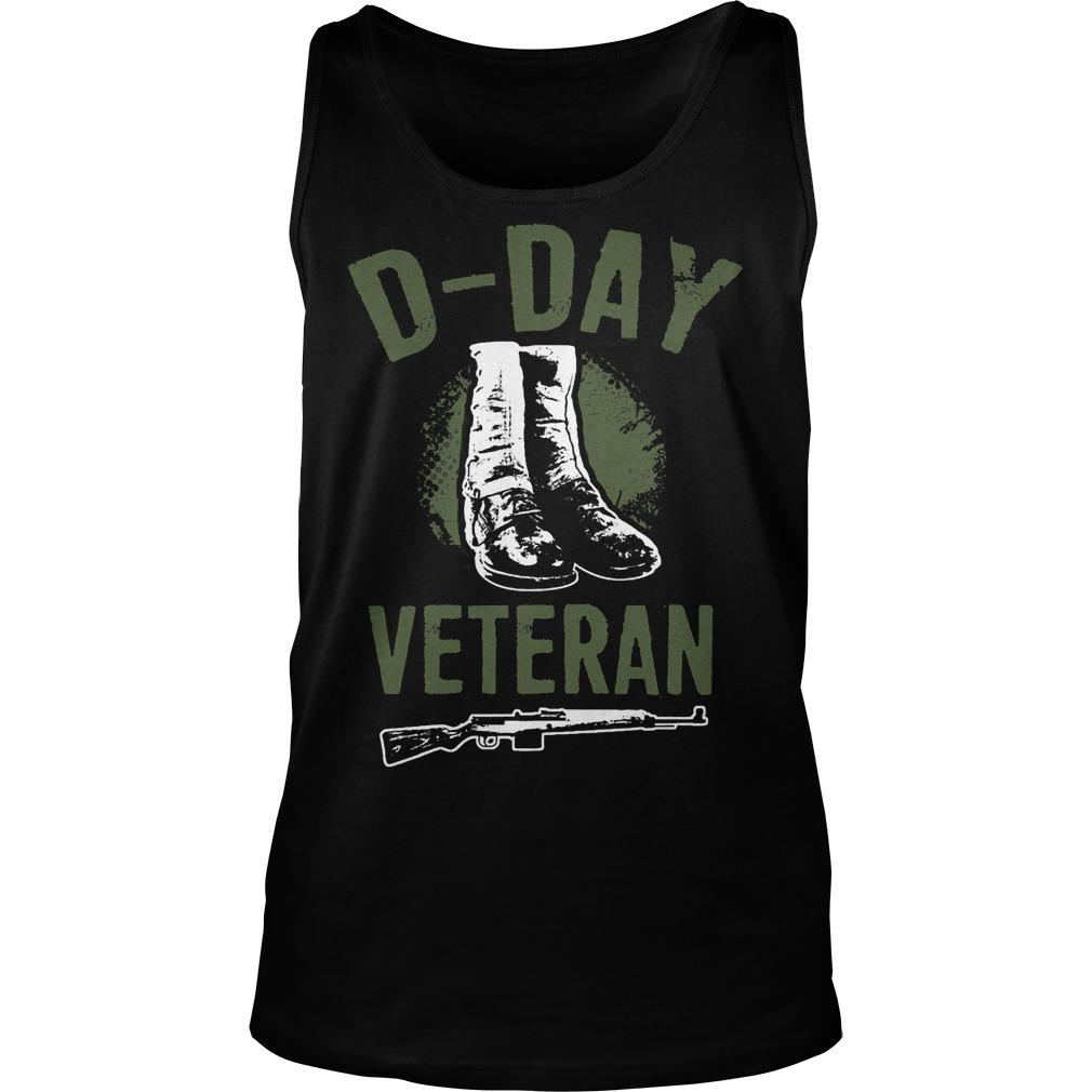 D Day Veteran Perfect Gift For Veterans Tanktop