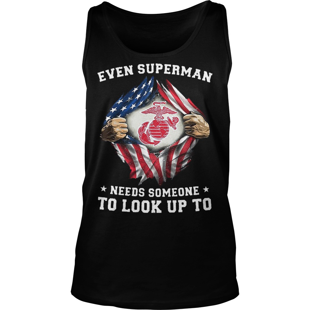 Even Superman Needs Someone To Look Up To Tanktop