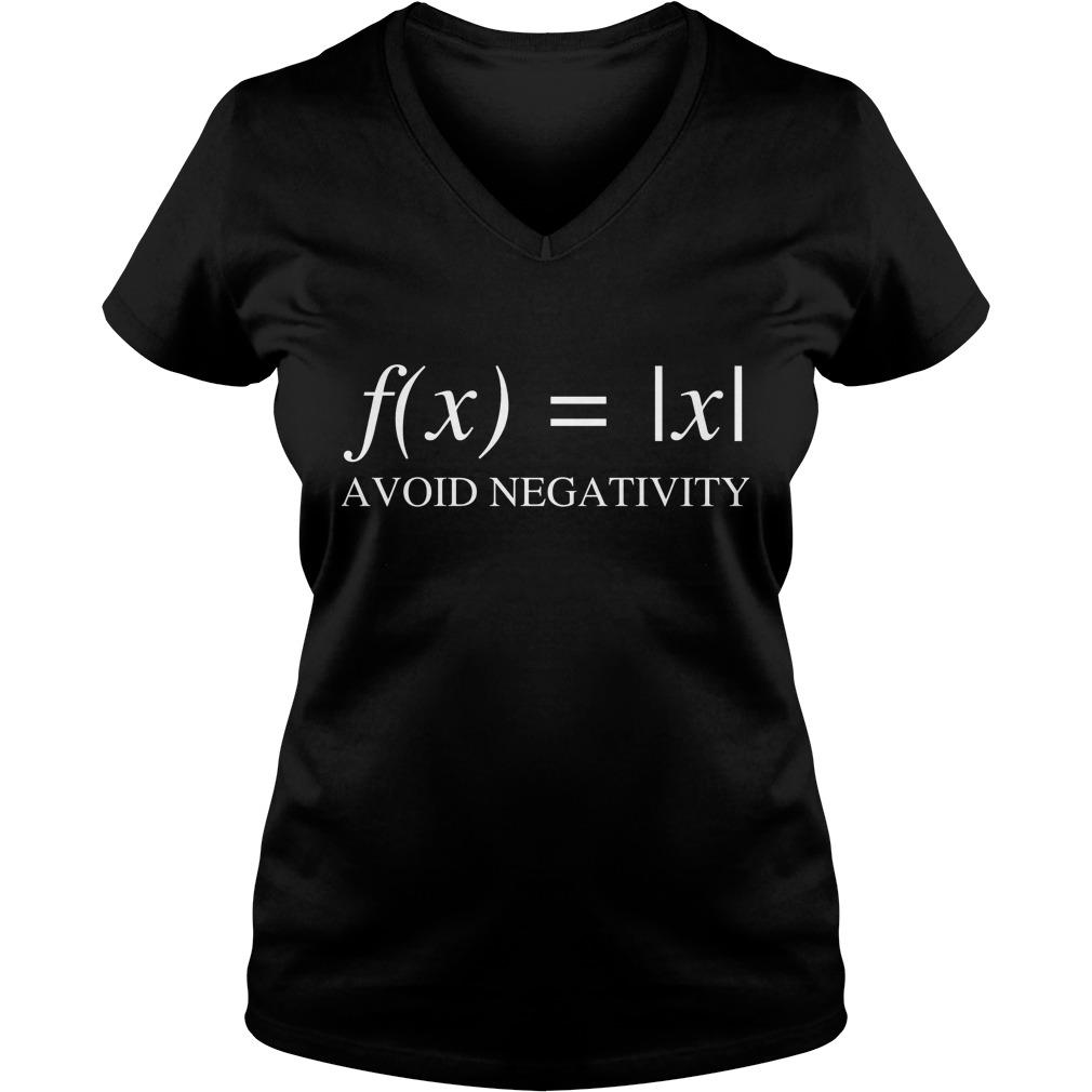 Mathematics Function Avoid Negativity V Neck