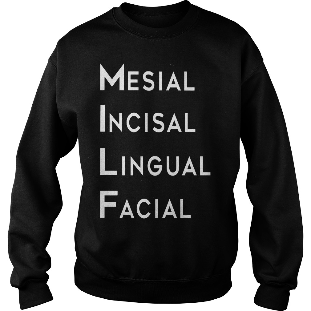 Mesial Incisal Lingual Facial Sweater