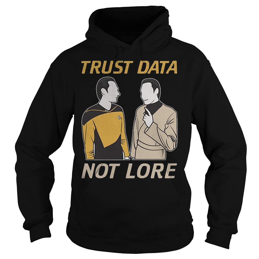 Trust Data Not Lore Hoodie