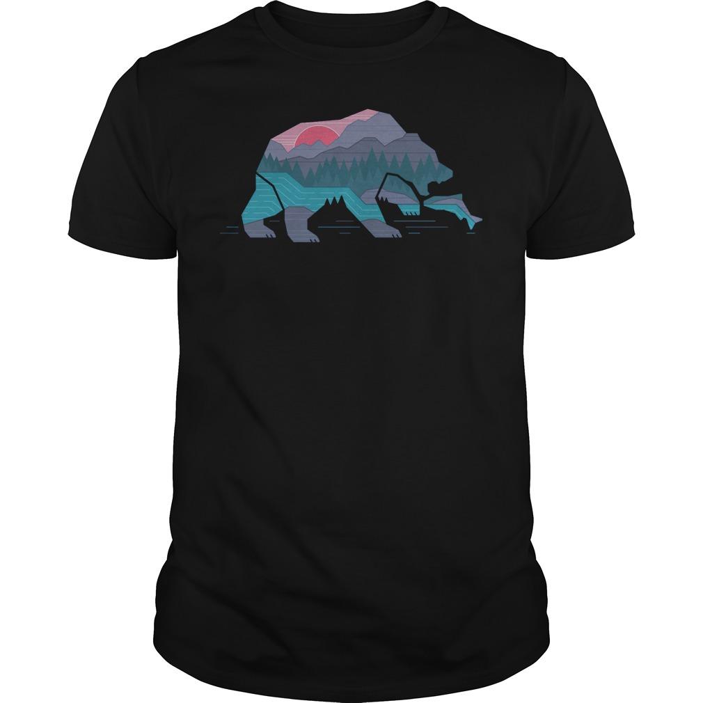 Country Bear T-Shirt Classic Guys / Unisex Tee