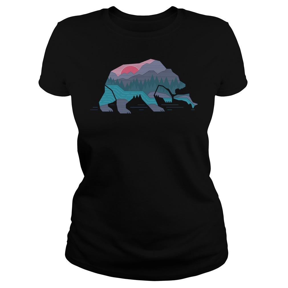 Country Bear T-Shirt Classic Ladies Tee