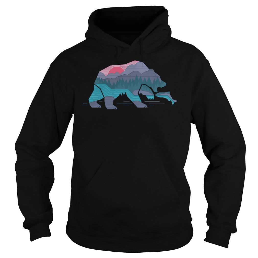 Country Bear T-Shirt Hoodie