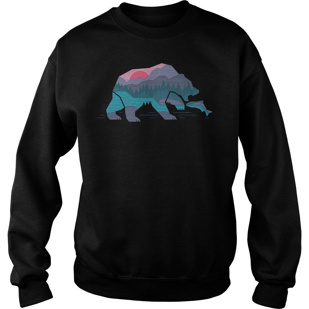 Country Bear T-Shirt Sweatshirt Unisex