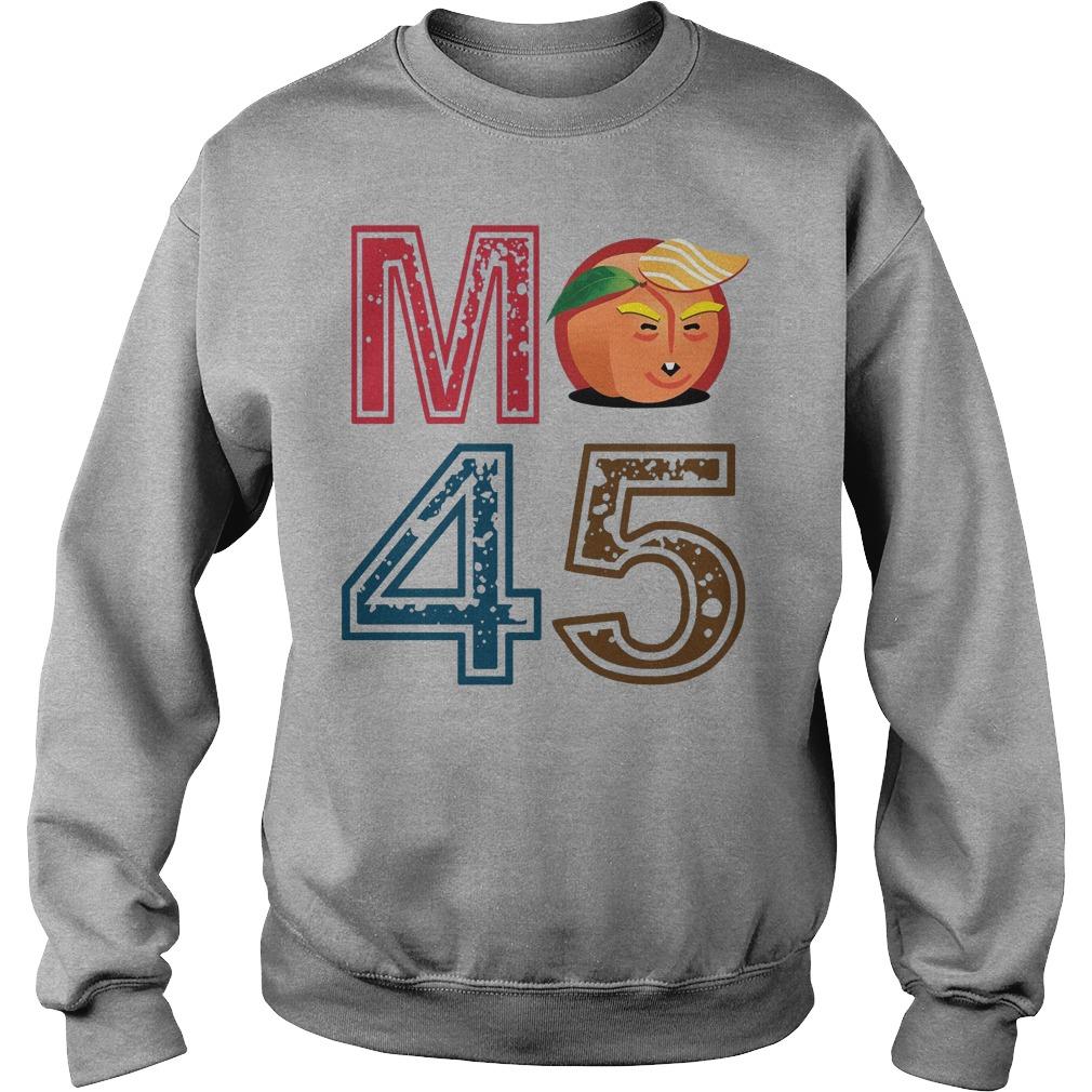 Funny Tee Impeach Trump M Peach 45 Sweater