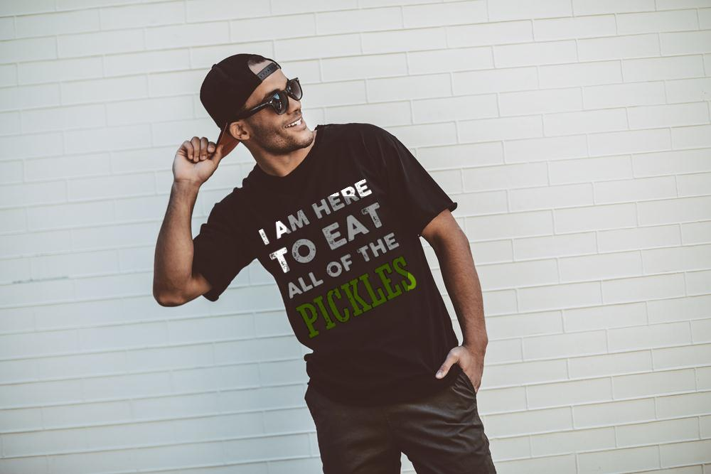 I Eat All Of The Pickles T Shirt