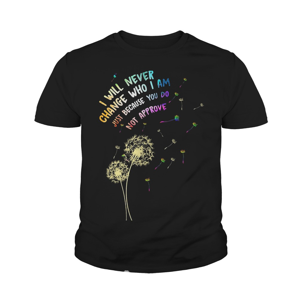 I Will Never Change Who I Am Just T-Shirt Youth Tee