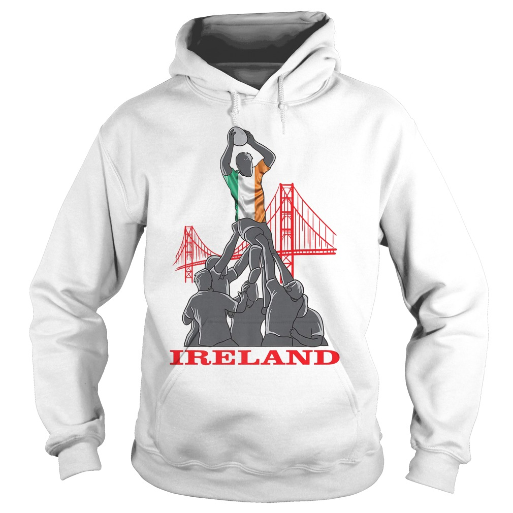 Ireland Rugby Sevens 2018 Champions T-Shirt Hoodie