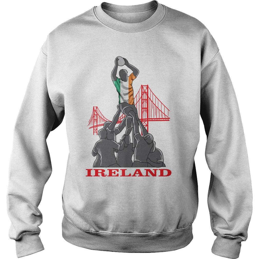 Ireland Rugby Sevens 2018 Champions T-Shirt Sweatshirt Unisex