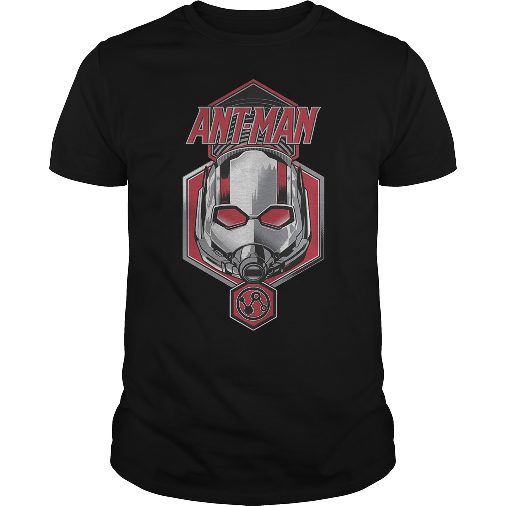 Official Ant Man Face T-Shirt Classic Guys / Unisex Tee
