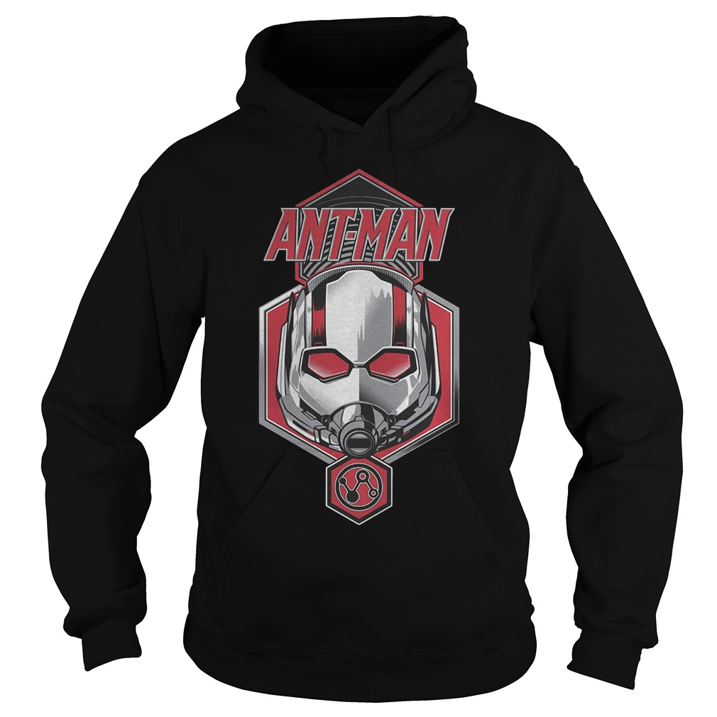 Official Ant Man Face T-Shirt Hoodie