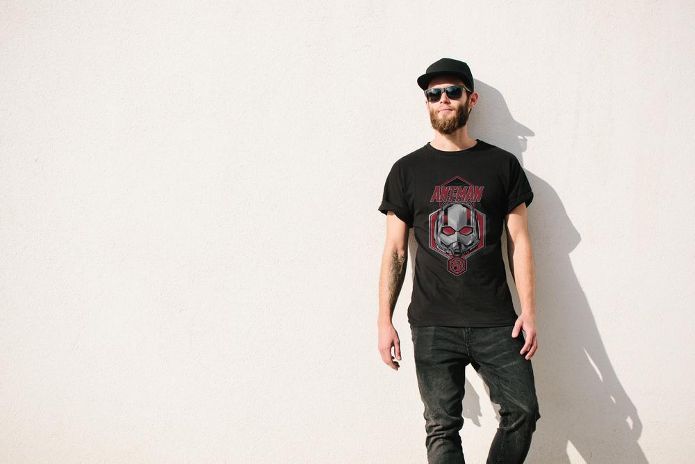 Official Ant Man Face T Shirt