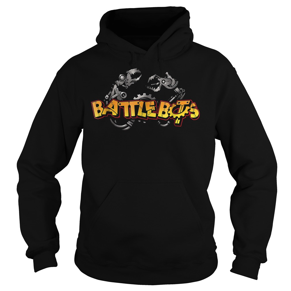 Robot Wars Robotic Arm Battle Bot T-Shirt Hoodie