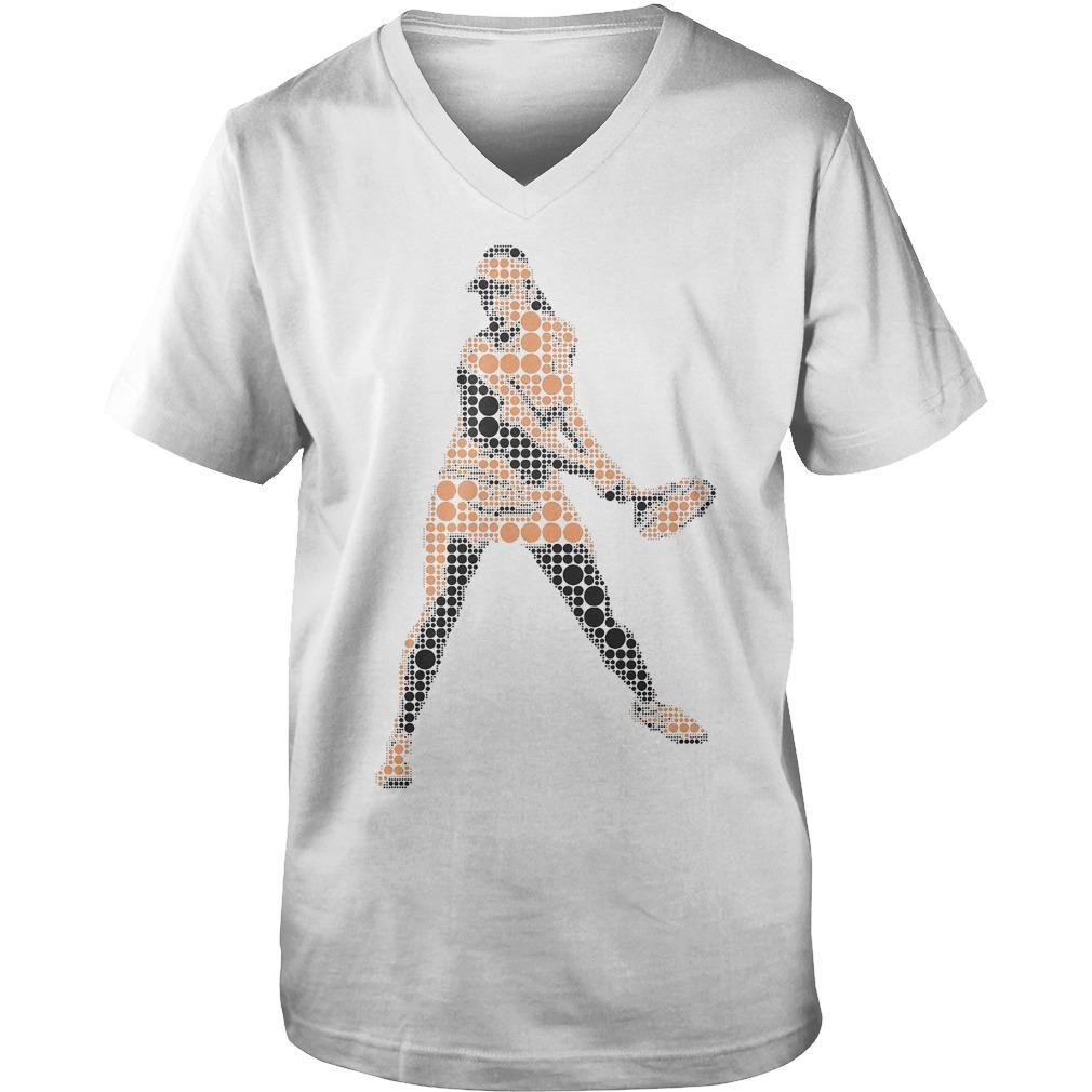 Tennis Player Wimbledon T-Shirt Guys V-Neck