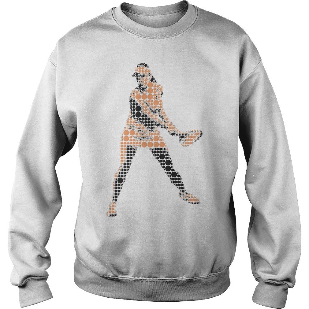 Tennis Player Wimbledon T-Shirt Sweat Shirt