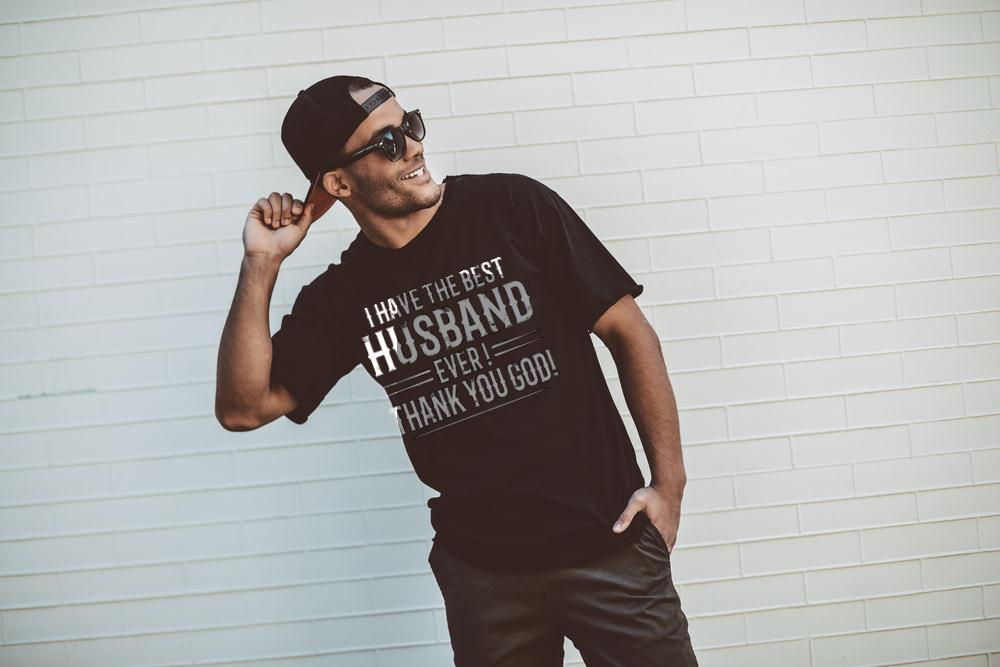 The Best Husband Ever Thanks You God T Shirt