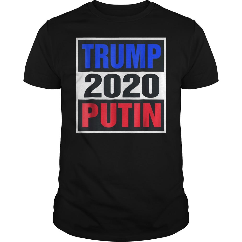 Trump With Putin 2020 T-Shirt Classic Guys / Unisex Tee
