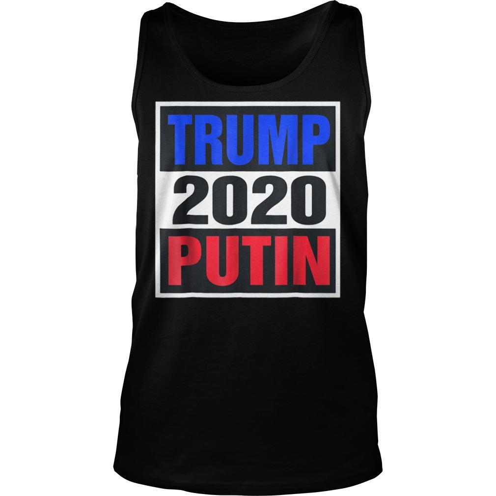 Trump With Putin 2020 T-Shirt Tank Top Unisex