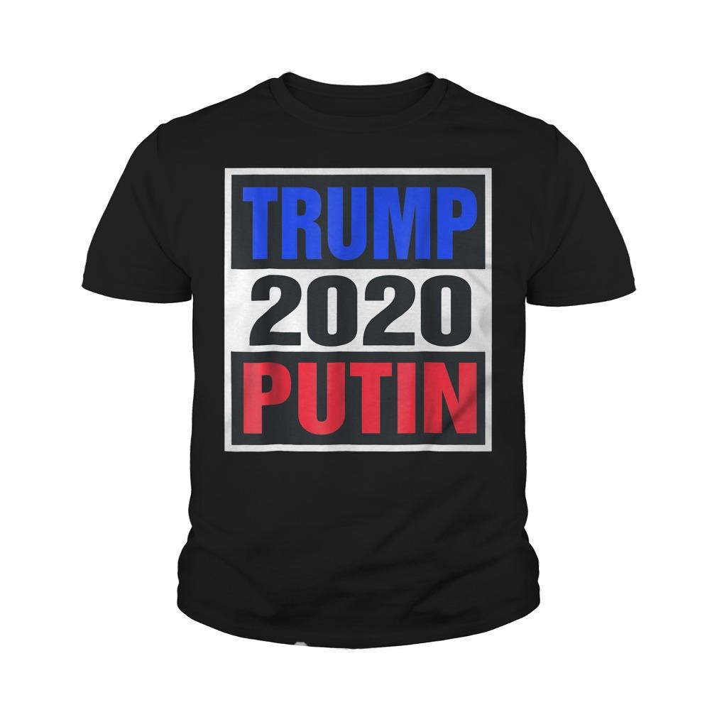 Trump With Putin 2020 T-Shirt Youth Tee