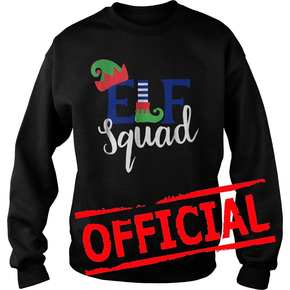 Best Price Family Christmas ELF Squad shirt Sweatshirt Unisex