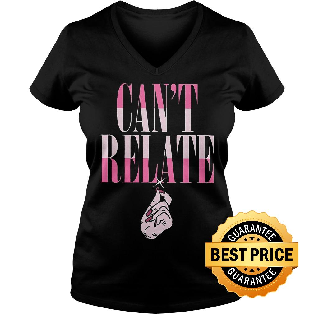Best Price Jeffree Star Can't Relate shirt Ladies V-Neck