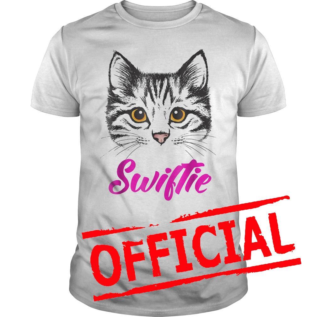 Best Price Taylor White Cat Swiftie shirt