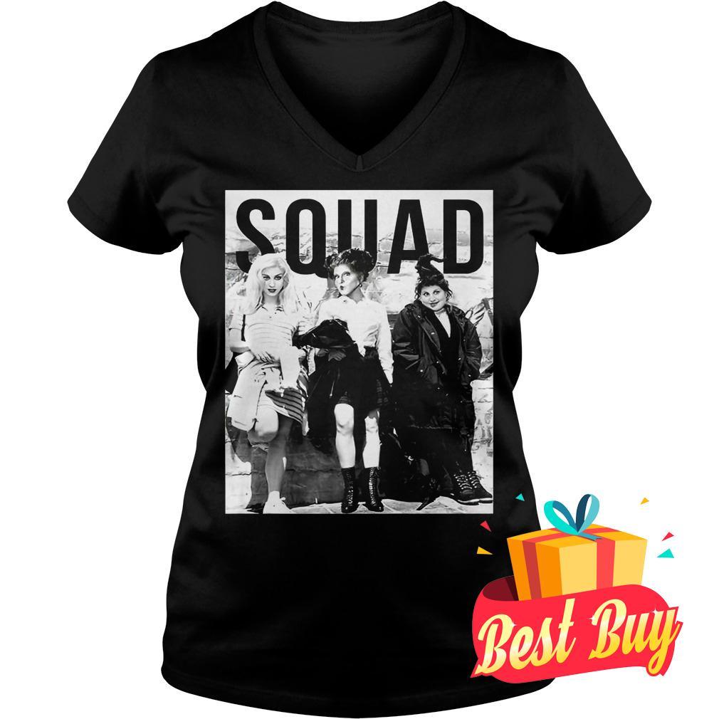Best Price Three Witches Squad Halloween Shirt Ladies V-Neck