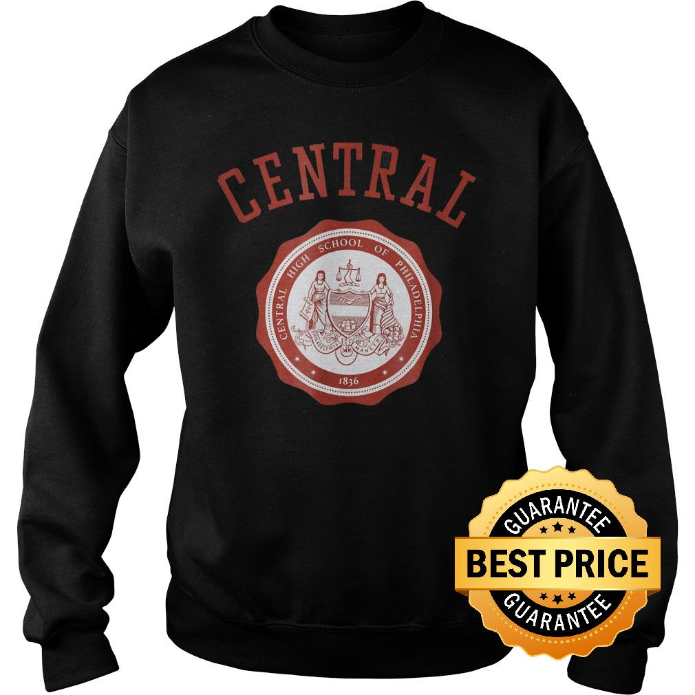Official Central High School of Philadelphia shirt Sweatshirt Unisex