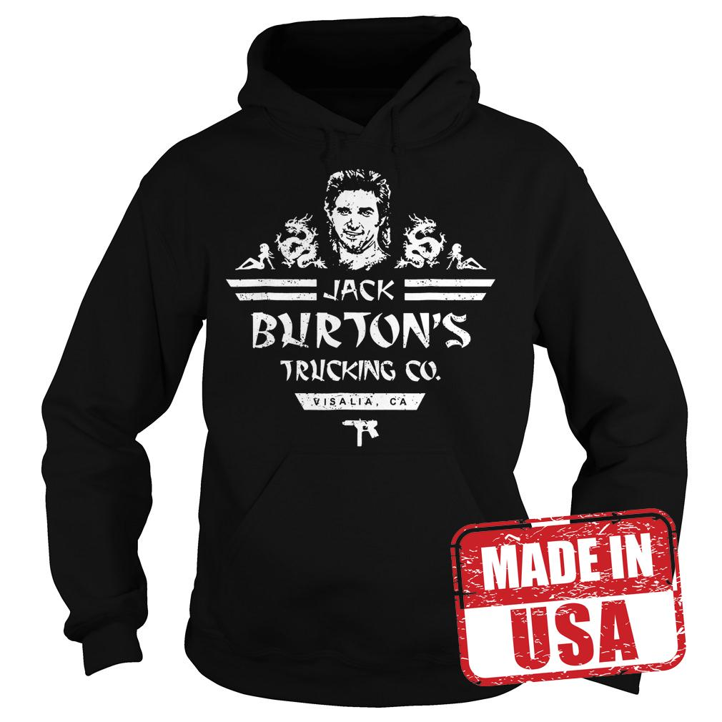 Original Jack Burton Trucking shirt Hoodie