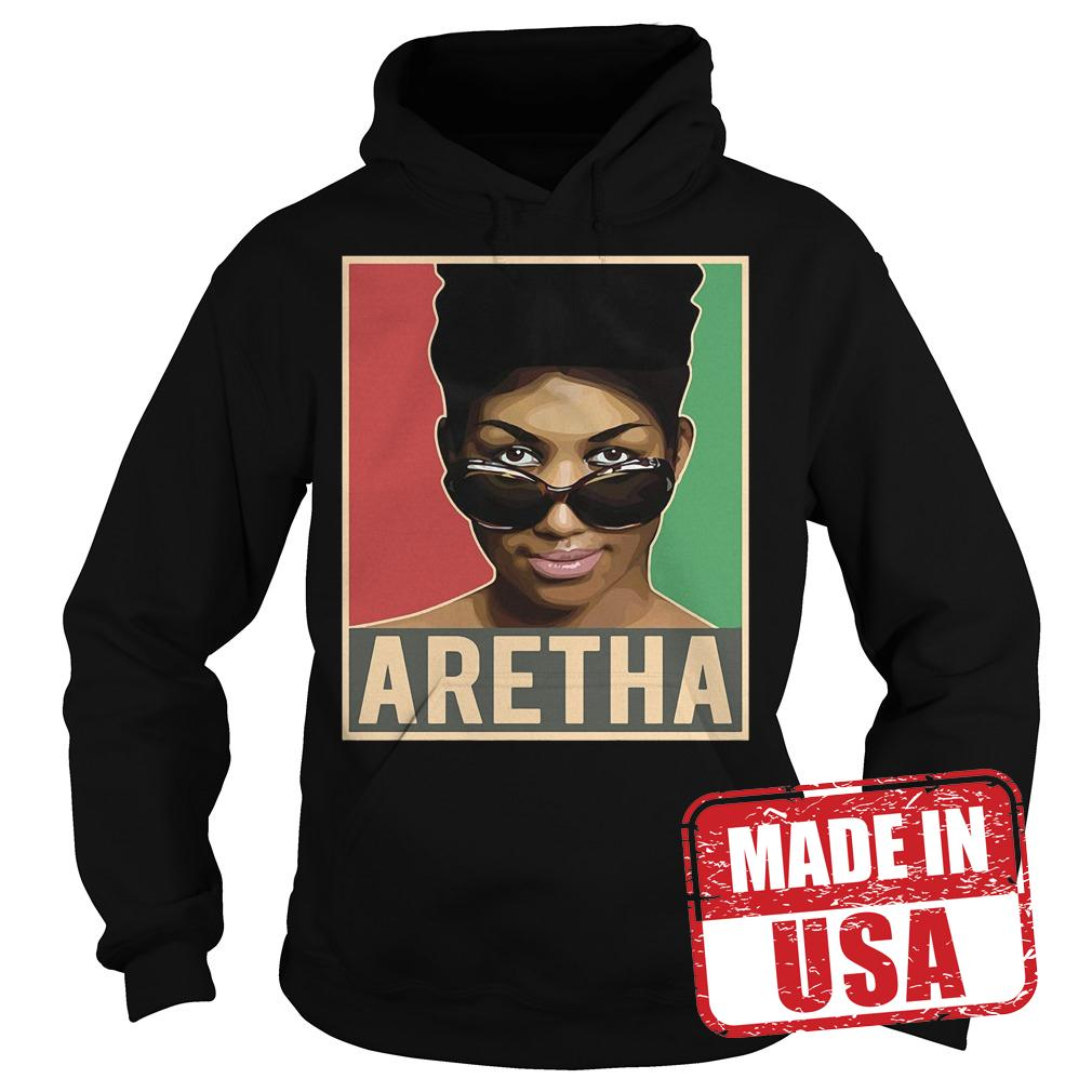Premium Aretha We Love You Queen Soul Aretha Franklin Shirt Hoodie