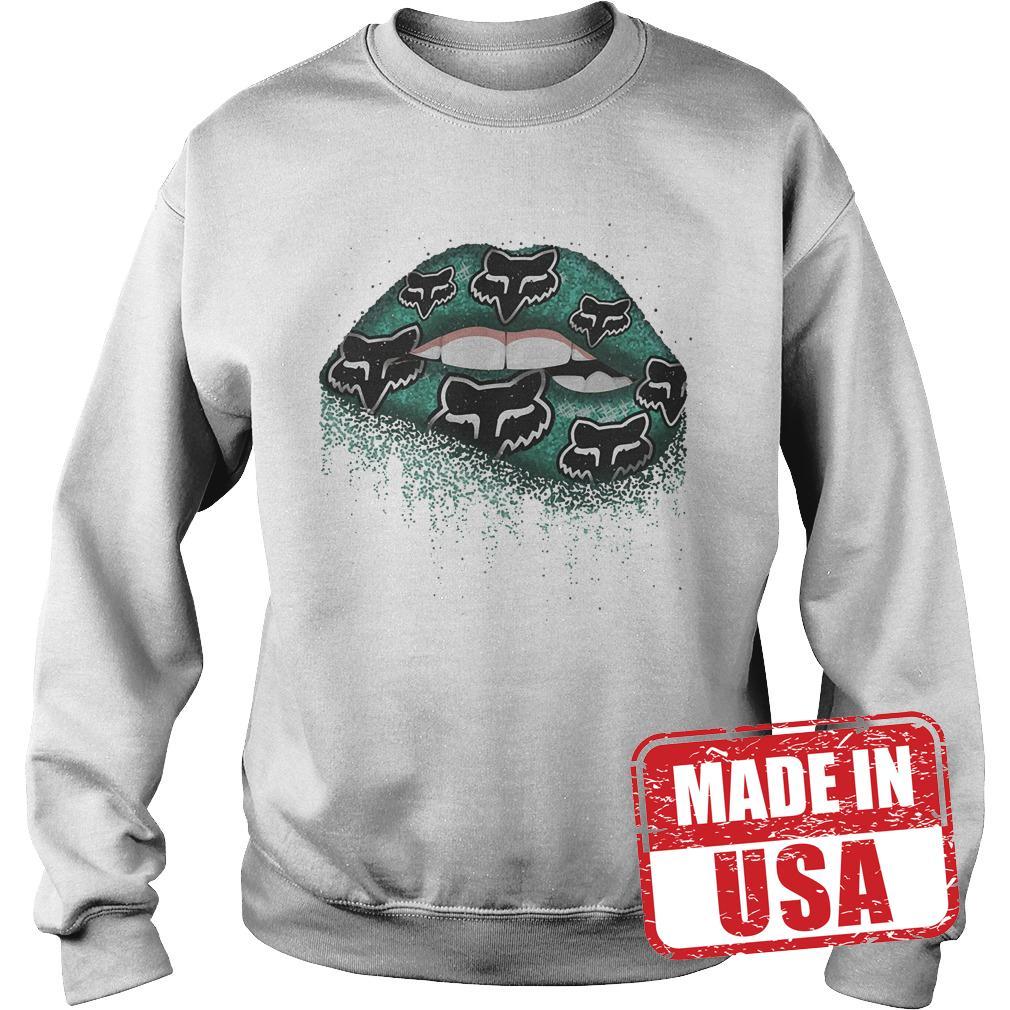 Premium Fox Racing Lips Shirt Sweatshirt Unisex