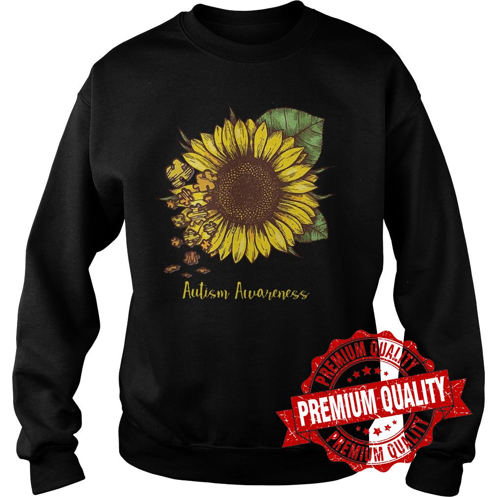 Premium Sunflower Autism Awareness shirt Sweatshirt Unisex