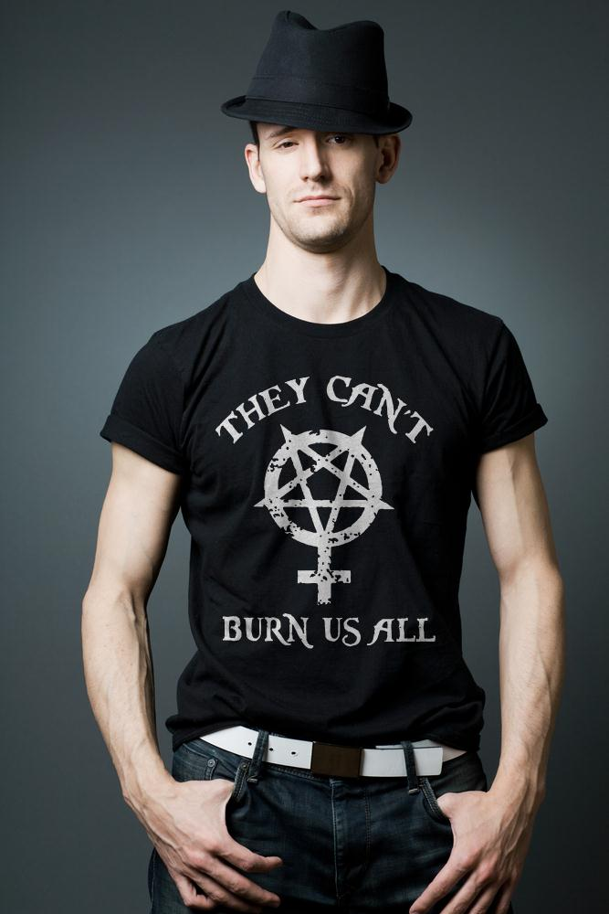 Premium They Can't Burn Us All T Shirt