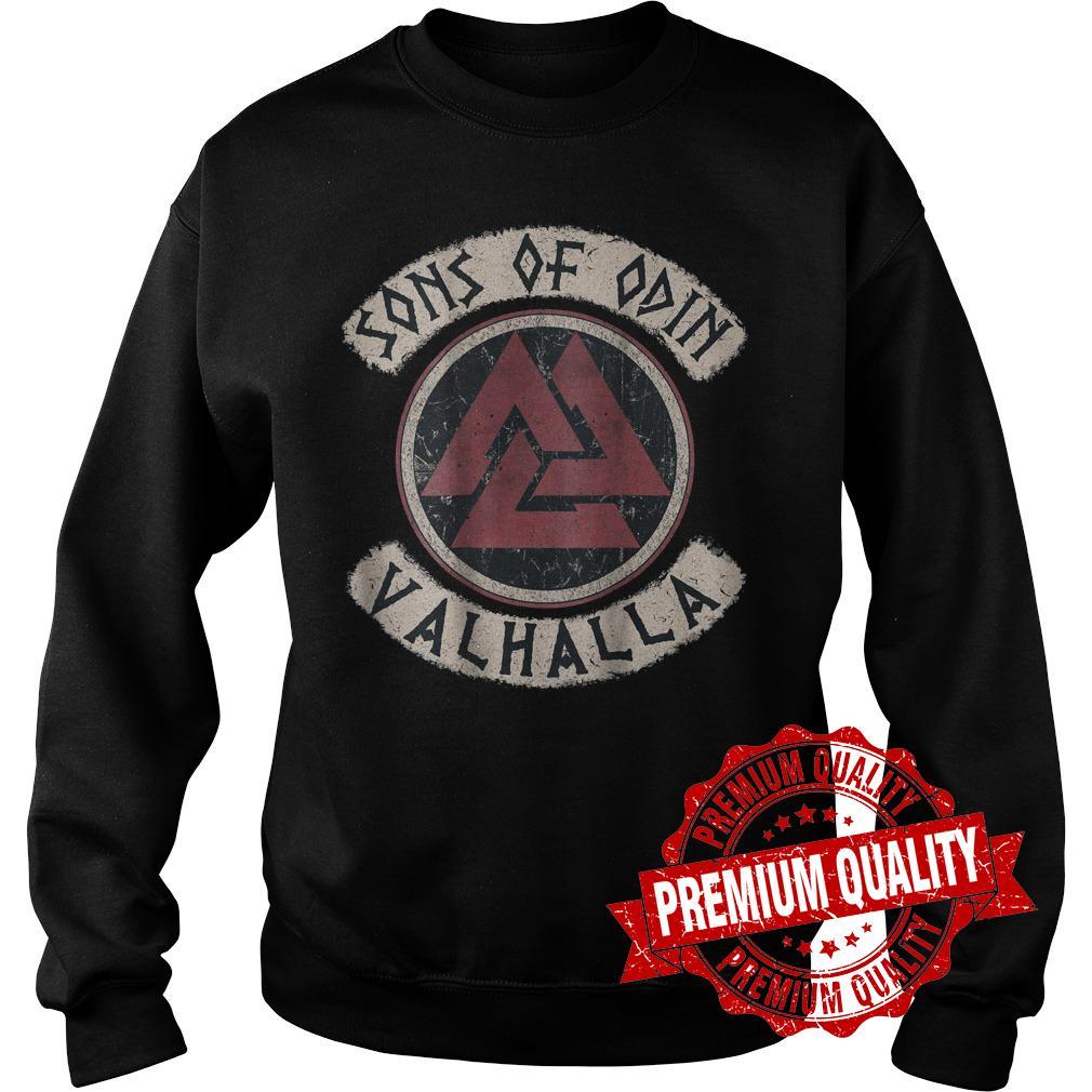 Premium Viking Sons Of Odin Valhalla shirt Sweatshirt Unisex