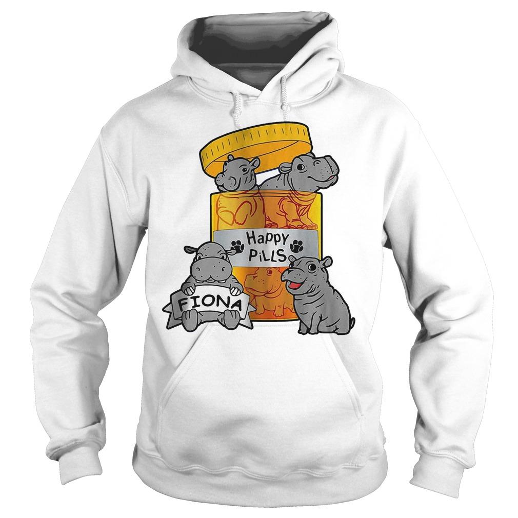 Top Fiona Happy Pills Shirt Hoodie