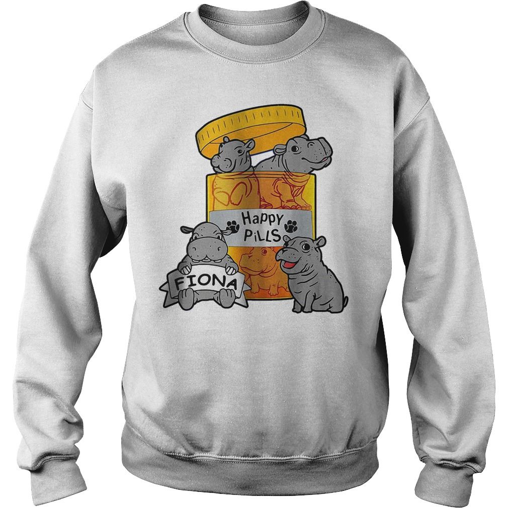 Top Fiona Happy Pills Shirt Sweatshirt Unisex