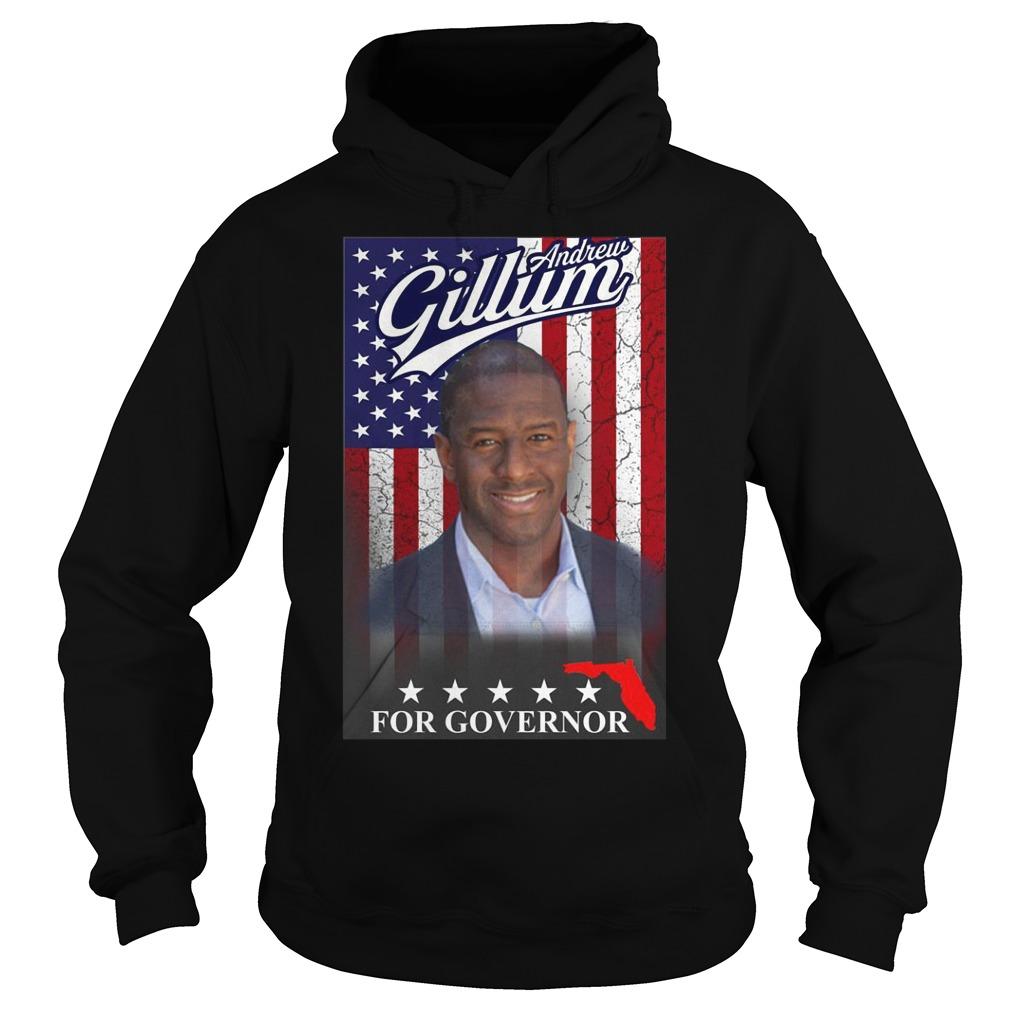 Andrew Gillum for governor Shirt Hoodie