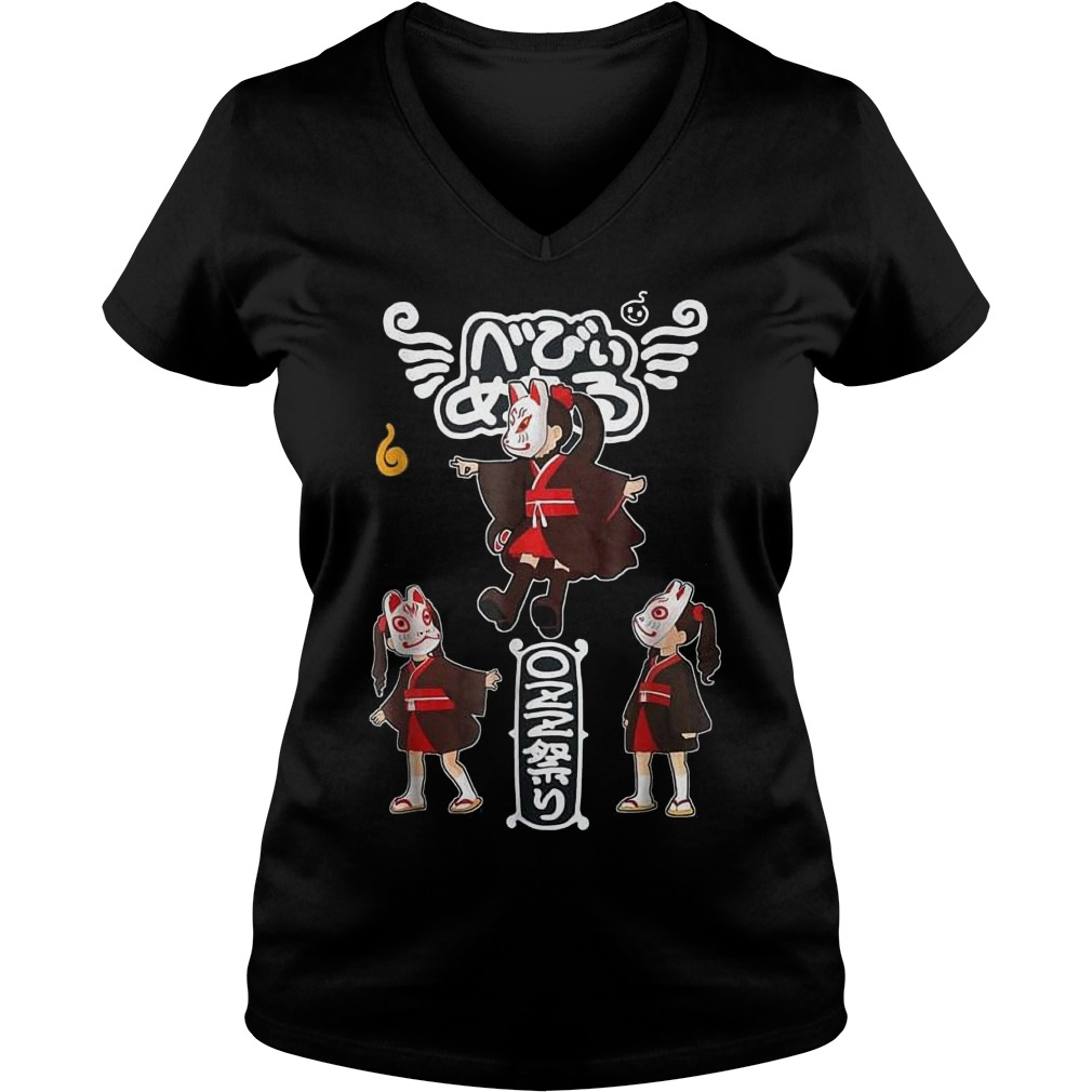 Babymetal Kawaii Japanese Anime Shirt Ladies V-Neck