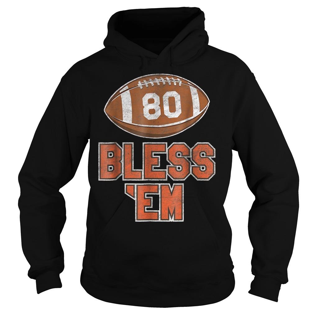 Browns Football Vintage Bless 'Em Shirt Hoodie