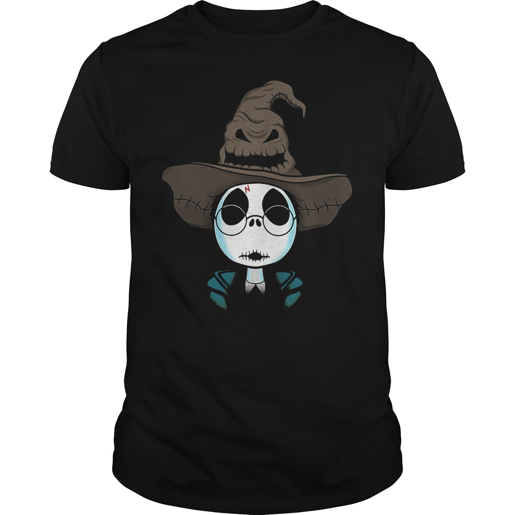 Halloween Jack Skellington Nightmare Harry Potter shirt
