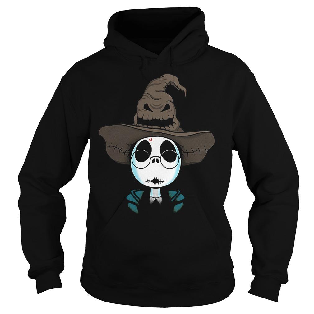 Halloween Jack Skellington Nightmare Harry Potter shirt Hoodie