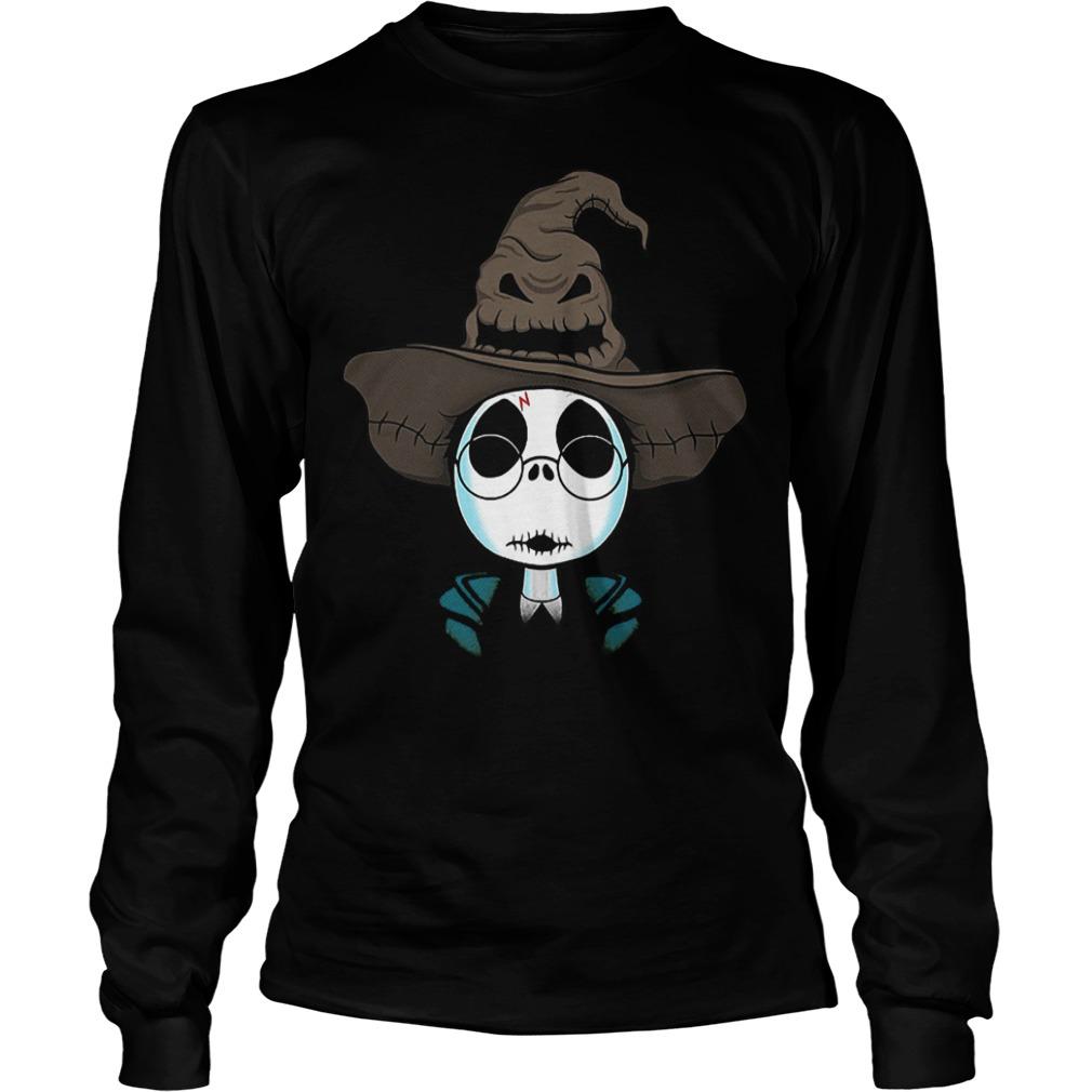 Halloween Jack Skellington Nightmare Harry Potter shirt Longsleeve Tee Unisex