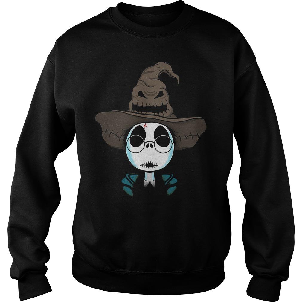 Halloween Jack Skellington Nightmare Harry Potter shirt Sweatshirt Unisex