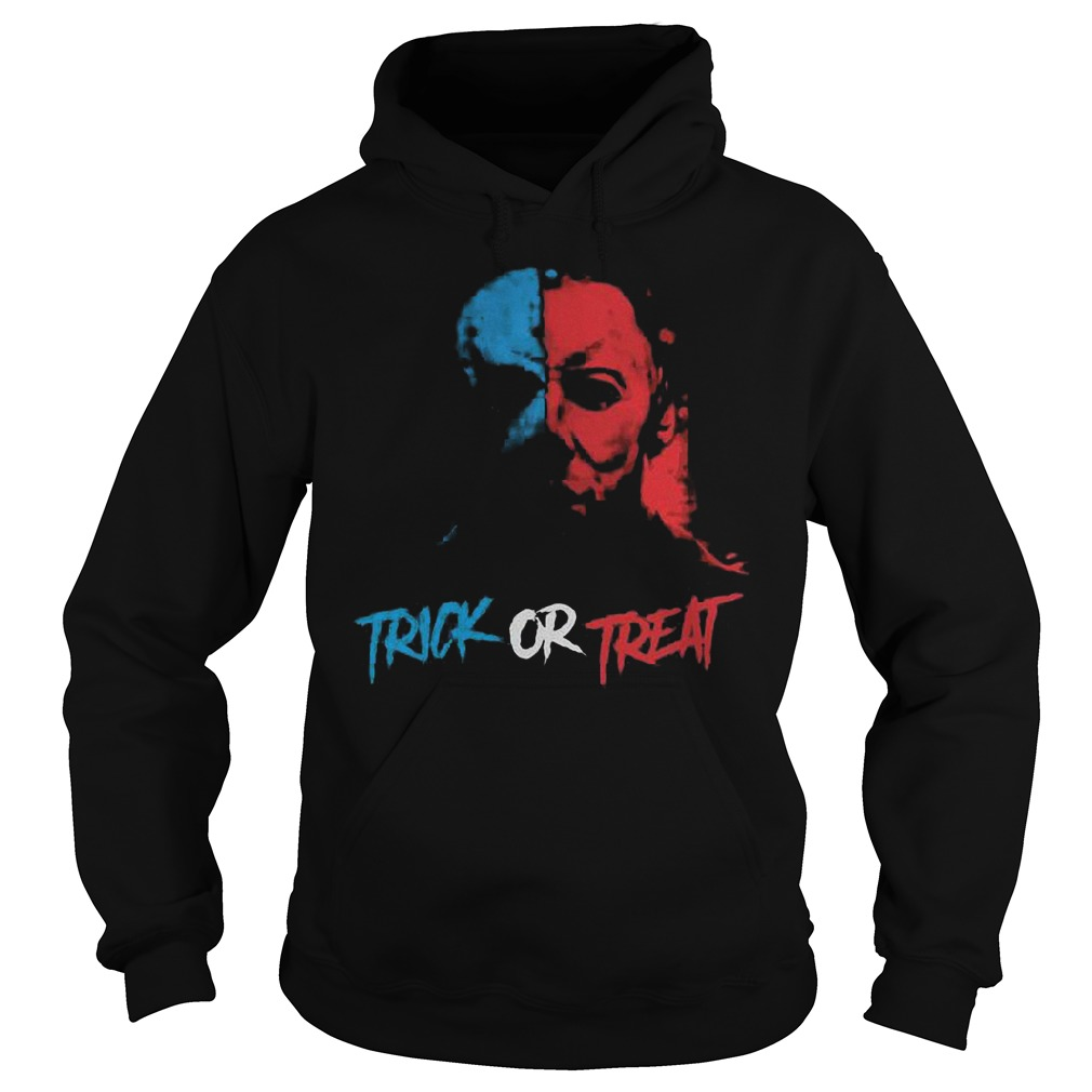 Halloween Jason face trick or treat Shirt Hoodie
