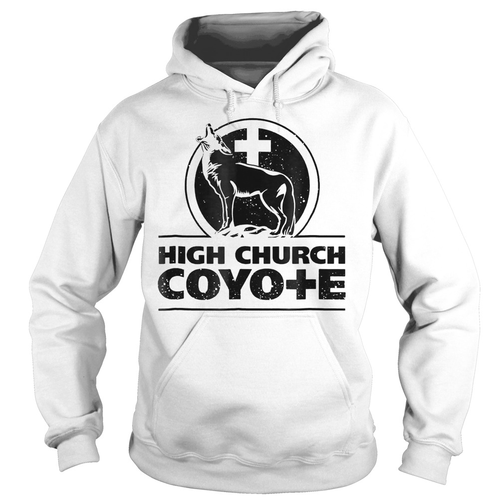 Holy Cross Coyote Logo High Church Coyote Shirt Hoodie