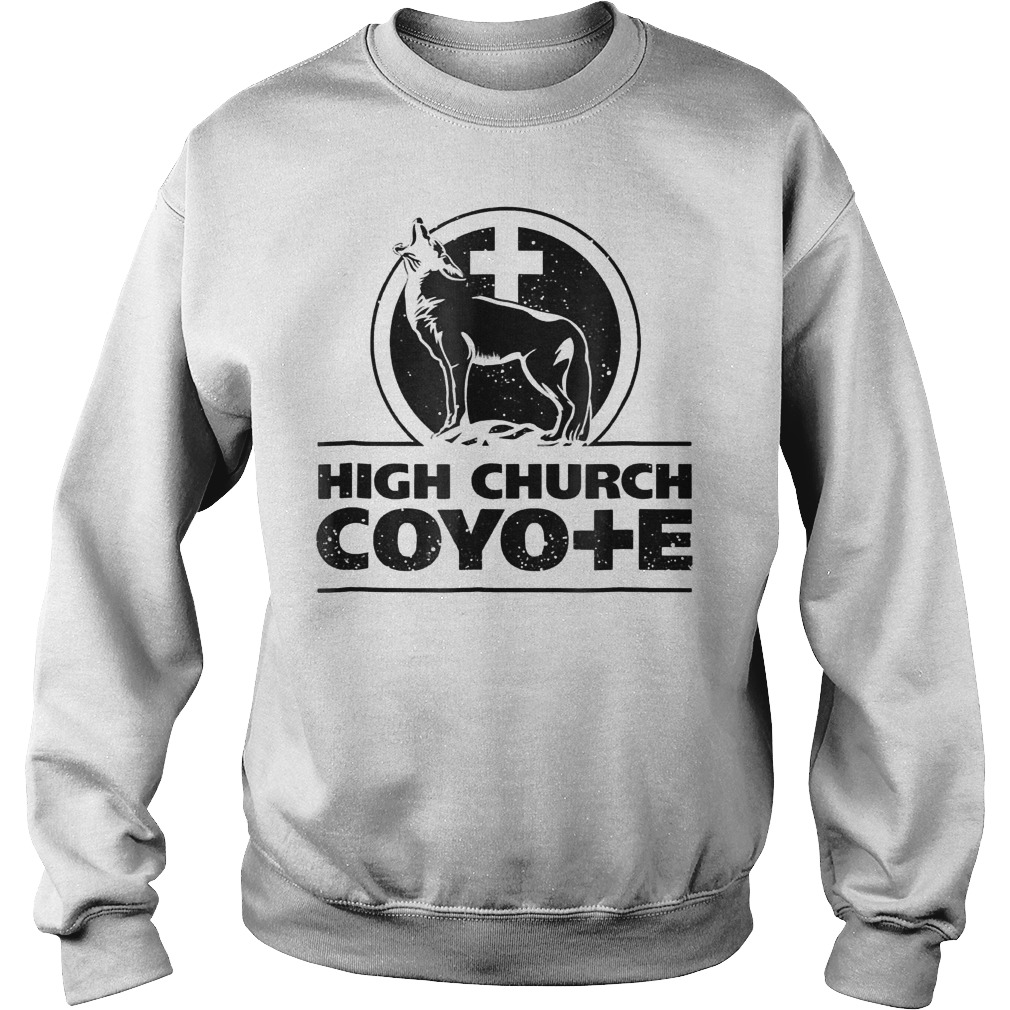 Holy Cross Coyote Logo High Church Coyote Shirt Sweatshirt Unisex